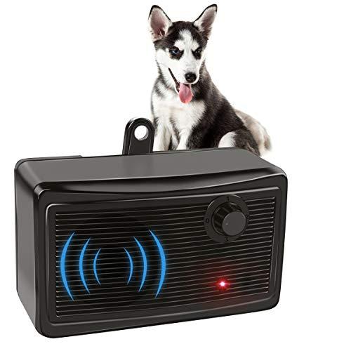GOTSEVEN Bark Control Device, Upgraded Mini Bark Control Device Outdoor Anti Barking Ultrasonic Dog Bark Control Sonic Bark Deterrents Silencer Stop...