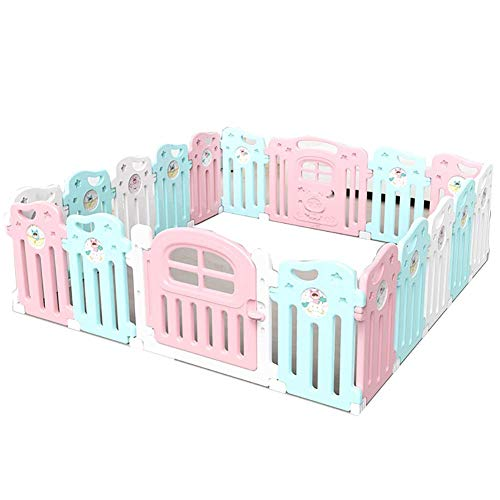Best Price PNFP Baby Playpen Play Fence Kids Activity Centre Washable Play Yard Indoor Playground (S...