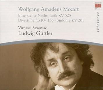 Mozart: Eine Kleine Nachtmusik, Divertimento, K. 136 & Salzburg Symphony No. 1