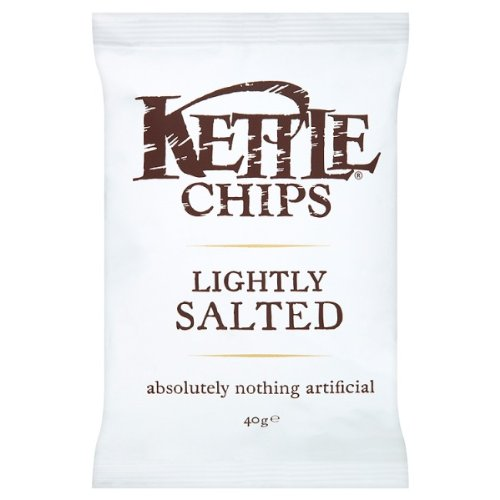 Leggermente salata Kettle Chips 18 x 40 grammi