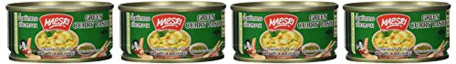 Maesri Thai Green Curry Paste  4 Oz Pack of 4