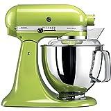 KitchenAid Artisan - Robot de cocina (4,8 L), color verde