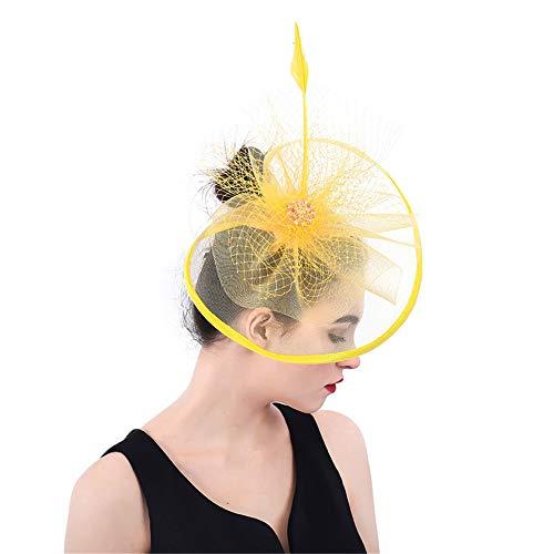 Gorra de Invierno y Sombrero Hat Fascinator Bodas Ladies Day Race Royal Ascot Cocktail Tea Party
