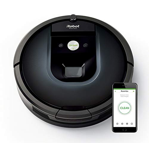 iRobot Roomba 981 Robot aspirapolvere WiFi, Power-Lifting, 2...