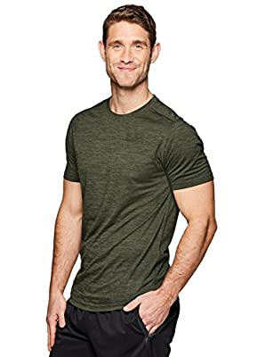 RBX Active Men's Classic Performance Workout Athletic Short Sleeve T-Shirt