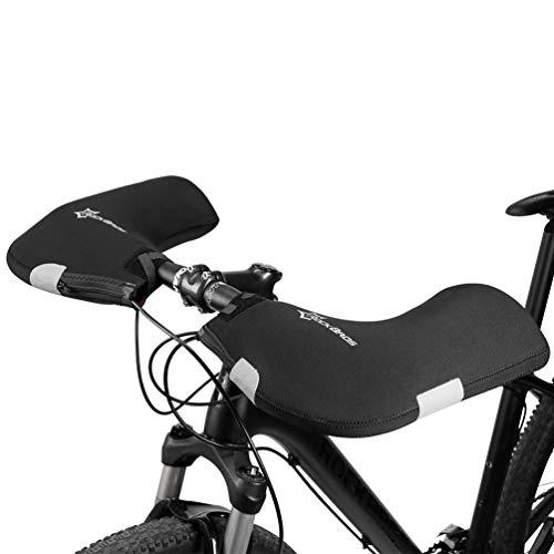 ROCKBROS Handlebar Mitts Cold Weather Mountain Bike Handlebar Mittens Windproof & Coldproof Commuter MTB Bicycle Bar Warmer Covers