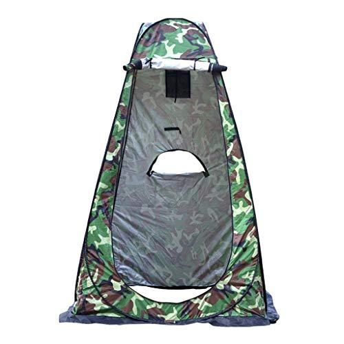 Vollautomatisches Toilettenzelt Umkleidezelt, Camping Duschzelt Outdoor Mobile Toilette Umkleidekabine Lagerzelt, Schnell öffnende Wurfzelte Wasserdicht Tragbares Strand Regenschutz 150X150X190CM (G)
