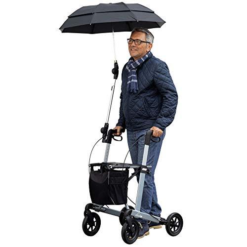 Regenschirm für Russka Rollator Vital schwarz