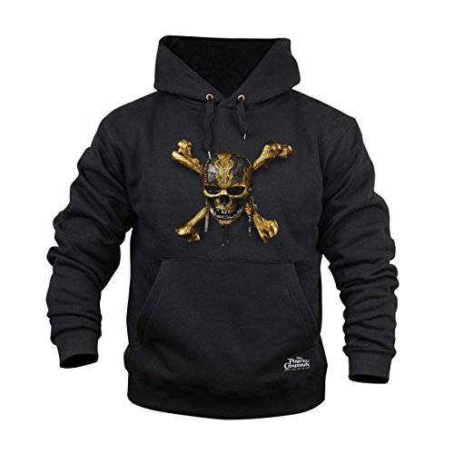 Pirates of the Caribbean: Salazars Rache Hoodie Skull 3XL