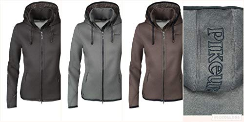 Pikeur Damen Fleece Jacke JINA Fleecejacke Größe 40, Farbe anthrazit