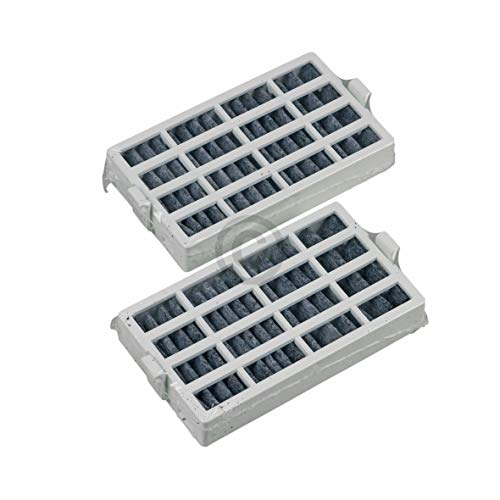 Air Filter Hygiene Filter Pack of 2 Replacement for Whirlpool 481248048172 C00312451 Filter for Fridge Freezer Combination
