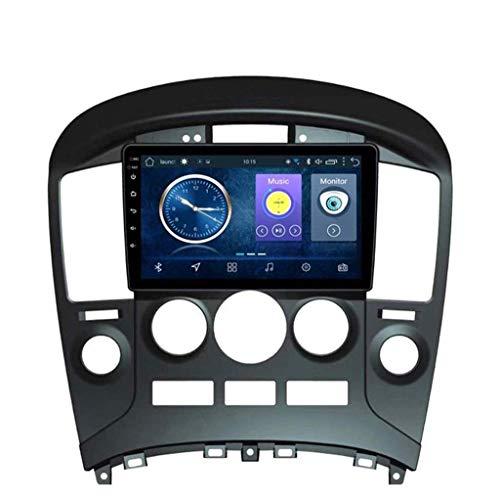 Android 8.1 Navegación Radio TV, pantalla táctil de 9 pulgadas, para Hyundai H1 2015 – 2018, con DAB CD DVD control del volante Bluetooth USB AUX Mirror Link,4 G + WiFi: 2 + 32 G
