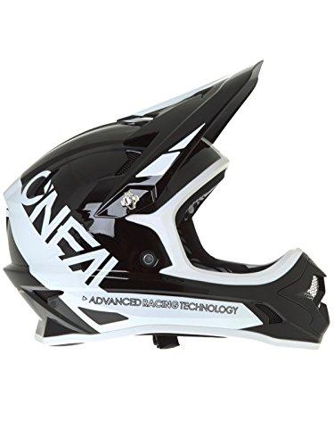 O \'Neal Backflip RL2bungarra Fahrrad Helm, schwarz/weiß, M (57–58cm)