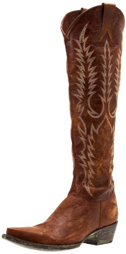 Women's  Western Boot,Vesuvio Brass,9.5 B US - Old Gringo Mayra