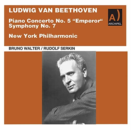 New York Philharmonic Orchestra, Bruno Walter & Rudolf Serkin