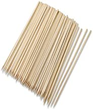 Royals Bamboo Skewers / Kabab / Burger / Barbecue Sticks 12 Inch (Pack Of 100)