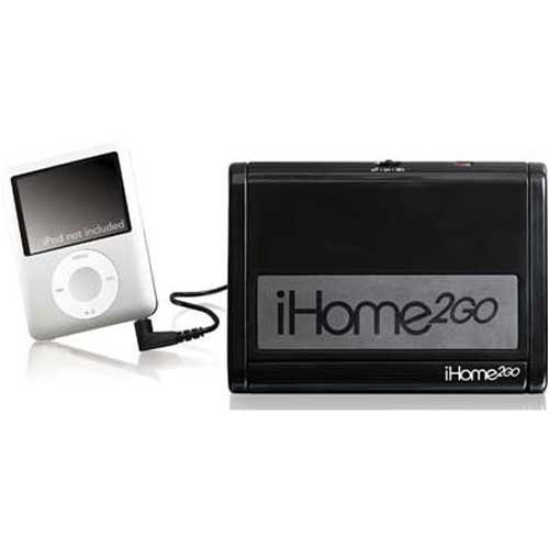 %25 OFF! iHome IHM2BC Go Anywhere/Play Anything Portable Stereo Speaker System - Play Any MP3 Player...