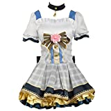 MIAOCOS Minami Kotori Girls Flower Bouquet Love Live Cosplay Costume Anime Lolita Deluxe Dress Party Adult Skirt
