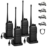 Walkie Talkies Radioddity GA-2S UHF Recargable Emisoras de C