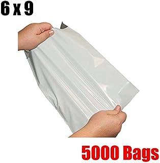 Imbaprice® 5000 6 X 9 weiß Poly Versandtaschen Briefumschläge Staubbeutel 6 x 9 B00J5MJ6WM  Nutzen Sie Materialien voll aus