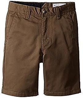ボルコム Volcom Kids キッズ 男の子 ショーツ 半ズボン Mushroom Frickin Chino Shorts [並行輸入品]