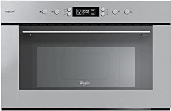 Whirlpool AMW 735 IXL Integrado 31L 1000W Acero inoxidable - Microondas (Integrado, 31 L, 1000 W, Botones, Acero inoxidable, 800 W)