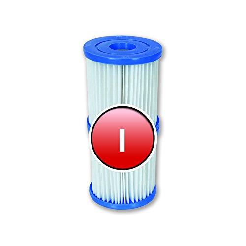 Bestway Filter Größe 1, für Pool Pumpe 2 x 2 Stück, insgesamt 4 Stück für die kleine Filteranlage von Bestway