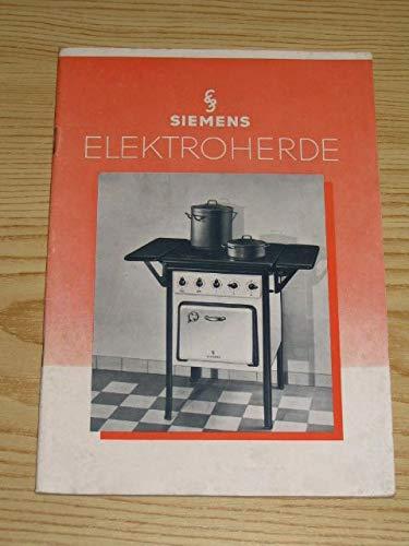 Siemens Elektroherde