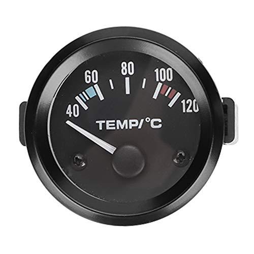 Misuratore temperatura dell'acqua a LED, sensore di temperatura dell'acqua per auto digitale LED universale da 2 pollici 52 mm