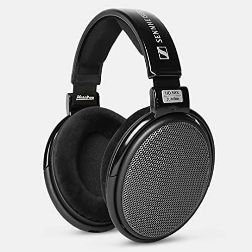 Sennheiser HD58X Open Back Professional Jubilee Headphones - Black