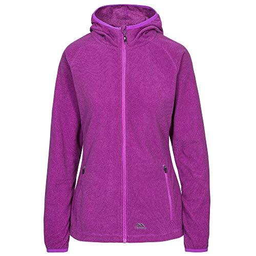 Trespass Jennings Damen Fleece-Jacke mit Kapuze, 140 g/m² S Lila Orchidee