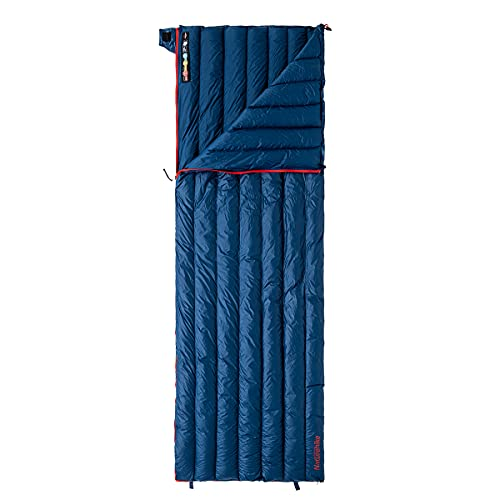 Naturehike Sleeping Bag Lightweight Compact 800 Fill Power Goose Down Sleeping Bag Compact for Adults Outdoor Camping Hiking