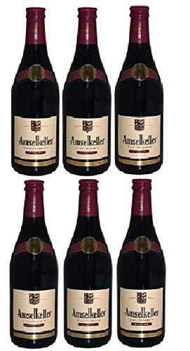 6 Flaschen Amselkeller, Cuvée, Rotwein a 0,75 L 11,5% vol.