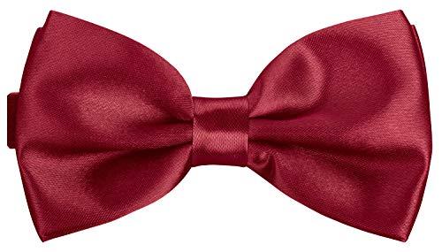 BomGuard dunkel-rote herren-fliege schleife damen frauen männer mann hund katze weihnachten mann gebunden dunkel-rot