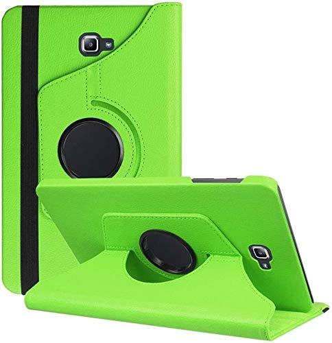 DETUOSI Funda Compatible con Tablet Galaxy Tab A6 10.1, Fundas Cubierta de PU Cuero Protectora Carcasa con Stand Función para Galaxy Tab A 10.1' SM-T580N/T585N-Verde