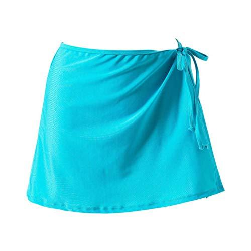 Okwin Donna Pastoia Swim Gonna Estate Bikini Coprire Fino Vestito Costumi da Bagno Pareo Corta Sarong Spiaggia Skirt