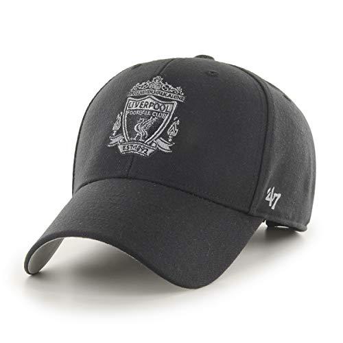 47 Brand FC Liverpool Basecap Cap Kappe schwarz Premier League England MVP You'll Never Walk Alone