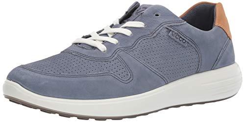 Ecco Herren SOFT7RUNNERM Sneaker, Blau (Ombre/Lion 57730), 48 EU