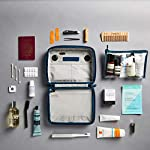 OneNine5 Eco-Friendly Travel Wash Bag (Toiletry Bag) with 100% Recycled Plastic Lining - Havelock Blue