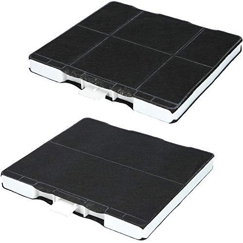2x Aktivkohlefilter für Dunstabzugshaube geeignet für Kohlefilter Bosch 00705431, 11026769, DHZ5326, Siemens LZ53250, LZ53251, LZ53650, Neff Z5101X1, Z5101X5, Z5105X5 - Filter für Abzugshaube