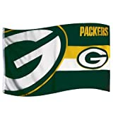 Forever Collectibles Flagge Green Bay Packers, Mehrfarbig, FLG53UNGHORGP -