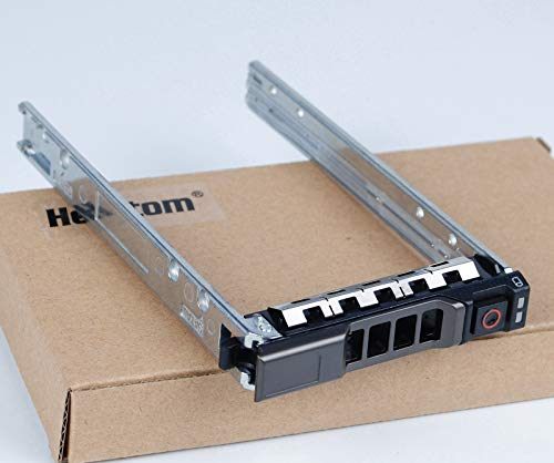 """Heretom Bandejas de Disco Duro Caddie g176j 2,5"""" SFF Tray Caddy para DELL PowerEdge Server - T440 T640 R330 R430 T430 R530 R630 T630 R730 R730XD R830 R930 y más - Soporte de jabón Caliente"""