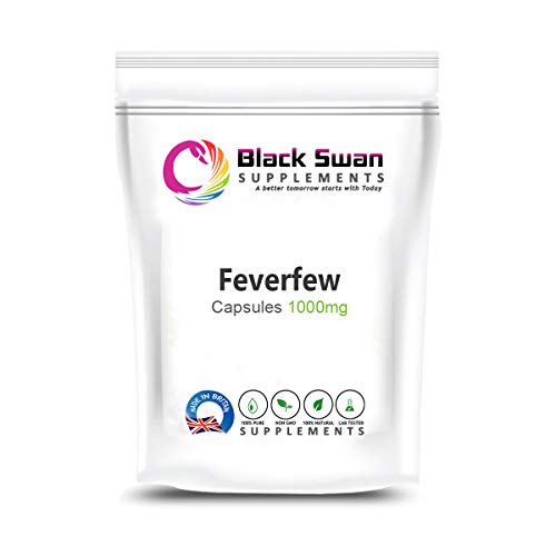 Black Swan Feverfew Supplements   with Anti-inflammatory Properties   Support Healthy Joints Health,...