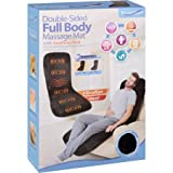Full Body Massage Mat Double Sided with Soothing Heat