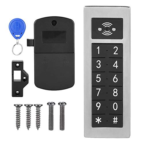 Smart Password Lock, anti-diefstal elektronisch digitaal numeriek toetsenbord gemaakt van roestvrijstalen veiligheidscodeslot voor de archiefkast