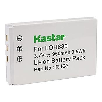 Kastar LOH880 Battery for Logitech R-IG7 Harmony One Harmony 720 850 880 885 880 Pro 890 Pro 900 Logitech 190304-0000 815-000037 AVL300s K43D M36B M41B 866165 866145 866207 AVL300 MCC AV100