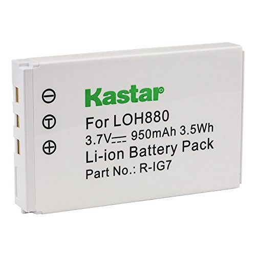 Kastar Rechargeable Battery Compatible with Logitech Harmony 880 890 720 785 885 895 One MX-880 R-IG7 F12440023 815-000037 190304-2000 190304-0000 866165 866145 866207 and Monster AVL300 MCC AV100