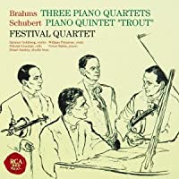 Festival Quartet - Brahms: Complete Piano Quitents & Schubert: Piano Quintet Trout (2CDS) [Japan CD] SICC-1614 by Festival Quartet (2012-11-21)