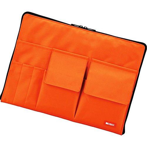 リヒトラブ バッグインバッグ A4 橙 A7554-4