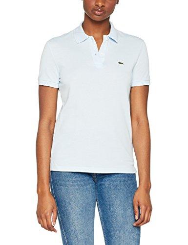 Lacoste Damen Poloshirt Pf7839,Blau (RUISSEAU T01),40(Herstellergröße: 42)